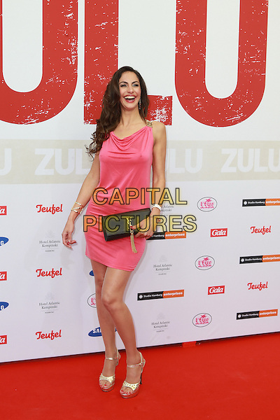 HAMBURG, GERMANY - MAY 05: Janina Youssefian attends the German premiere of the film 'Zulu' at Cinemaxx on May 5, 2014 in Hamburg, Germany. <br /> CAP/AAP/HAR<br /> &copy;HAR/AAP/Capital Pictures