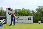 Mark Tullo (CHI) in action on the 6th tee during Day 3 of the BMW Italian Open at Royal Park I Roveri, Turin, Italy, 11th June 2011 (Photo Eoin Clarke/Golffile 2011)