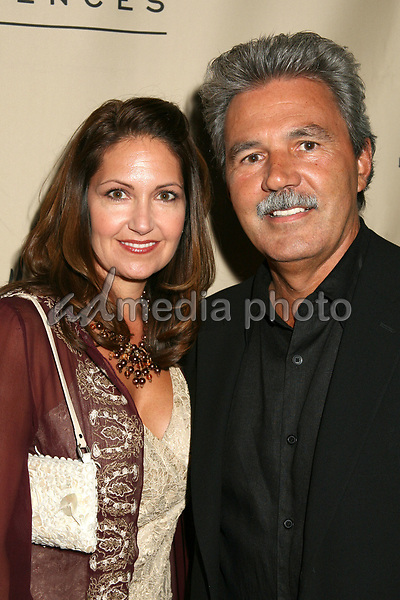 23 August 2006 - Century City, California. Paula Wilhelm and David Wilhelm. 58th Annual Primetime Emmy Award Nominees for Outstanding Writing Reception. Photo Credit: Byron Purvis/AdMedia