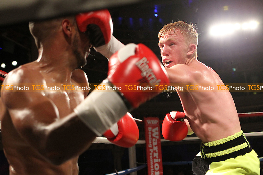 Thomas Kindon vs Darren Pryce - Boxing at O2 Academy, Bournemouth Dorset United Kingdom - 04/07/15 - MANDATORY CREDIT: Chris Royle/TGSPHOTO - Self billing applies where appropriate - contact@tgsphoto.co.uk - NO UNPAID USE