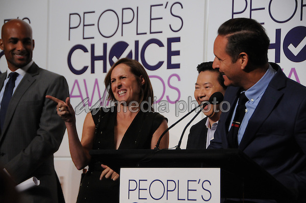 15 November 2016 - Beverly Hills, California - Molly Shannon, Mark Burnett. 2017 People's Choice Awards Announcements held at The Paley Center for Media. Photo Credit: Birdie Thompson/AdMedia