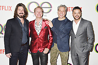 WEST HOLLYWOOD, CA - FEBRUARY 07: (L-R) Kyan Douglas, Carson Kressley, Thom Filicia and Jai Rodriguez attend the premiere of Netflix's 'Queer Eye' Season 1 at Pacific Design Center on February 7, 2018 in West Hollywood, California.<br /> CAP/ROT/TM<br /> &copy;TM/ROT/Capital Pictures