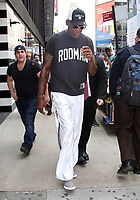 NEW YORK, NY - JUNE 22: Dennis Rodman seen in New York City on June 22 , 2017. Credit: RW/MediaPunch