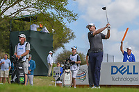 Zach Johnson (USA) watches his tee shot on 3 during day 2 of the World Golf Championships, Dell Match Play, Austin Country Club, Austin, Texas. 3/22/2018.<br /> Picture: Golffile | Ken Murray<br /> <br /> <br /> All photo usage must carry mandatory copyright credit (&copy; Golffile | Ken Murray)