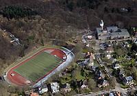 Luisen Gymnasium und Billtal Stadion : EUROPA, DEUTSCHLAND, HAMBURG, (EUROPE, GERMANY), 24.02.2018: Luisen Gymnasium und Billtal Stadion