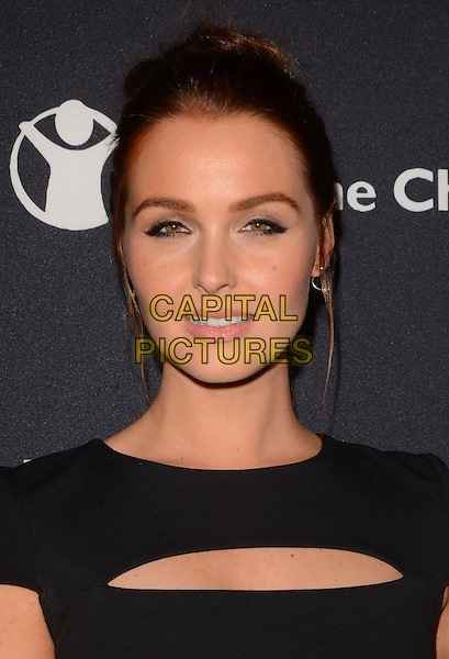 17 February 2015 - Beverly Hills, Ca - Camilla Luddington. BVLGARI and Save the Children launches Stop.Think.Give., a collection of celebrity portraits photographed by Fabrizio Ferri held at Spago. <br /> CAP/ADM/BT<br /> &copy;BT/ADM/Capital Pictures