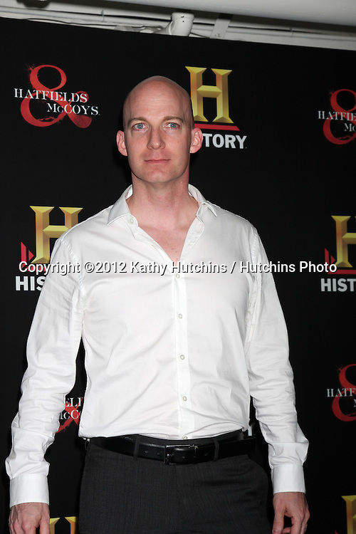 """LOS ANGELES - SEP 22:  Bill Millsap arrives at the """"HATFIELDS & McCOYS"""" Pre-Emmy Party. at SOHO Club on September 22, 2012 in West Hollywood, CA"""