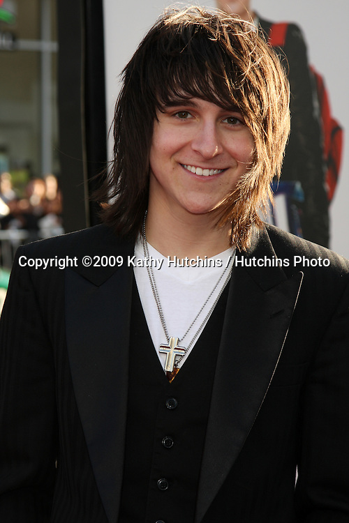 Mitchel Musso arriving at the 17 Again Premiere at Grauman's Chinese Theater in Los Angeles, CA on April 14, 2009.©2009 Kathy Hutchins / Hutchins Photo....                .