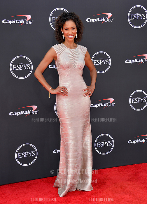 Sage Steele at the 2018 ESPY Awards at the Microsoft Theatre LA Live, Los Angeles, USA 18 July 2018<br /> Picture: Paul Smith/Featureflash/SilverHub 0208 004 5359 sales@silverhubmedia.com