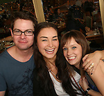 Trent Dawson, Ewa Da Cruz, Marnie Schulenberg, ATWT  attends the 22nd Annual Broadway Flea Market and Grand Auction to benefit Broadway Cares / Equity Fights Aids on Sunday 21, 2008 in Shubert Alley, New York City, NY. (Photo by Sue Coflin/Max Photos)