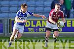 Niall O'Shea Dromid Pearses v Kevin Quinn Derrytresk in the AIB All Ireland Junior Club Championship Semi Final at Portlaoise on Sunday