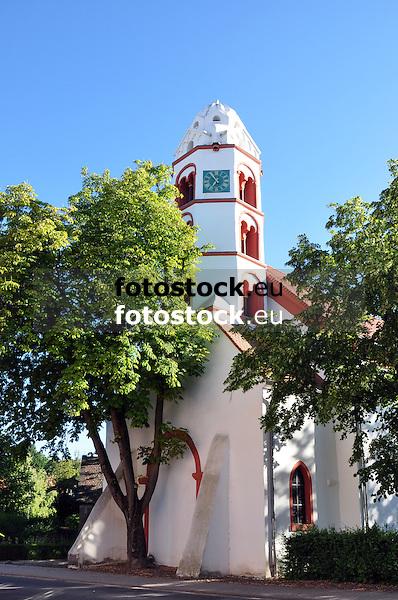 Ev. Heidenturmkirche in Dittelsheim-Heßloch, Sarazenenturm von 1100