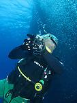 Orchid Island (蘭嶼), Taiwan -- SCUBA Diving at Jichang Waijiao (機場外礁)