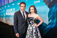 "NEW YORK - NOVEMBER 14: Ben Stiller and Alana O'Brien attend the premiere of Showtime's limited series ""Escape at Dannemora"" at Alice Tully Hall in Lincoln Center on November 14, 2018 in New York City. (Photo by Kena Betancur/Showtime/PictureGroup)"