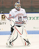 Clay Witt (Northeastern - 31) - The visiting Rensselaer Polytechnic Institute Engineers tied their host, the Northeastern University Huskies, 2-2 (OT) on Friday, October 15, 2010, at Matthews Arena in Boston, MA.