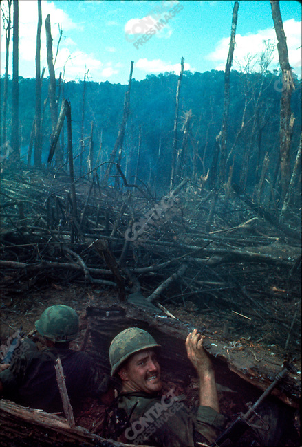 The Vietnam War, US Soldiers, battle of Dak To, Hill 875, South Vietnam, November 1967