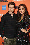 "Ben McKenzie and Ashley Park during the Second Stage Theater presents ""Grand Horizons"" at the Marquis Hotel on December 11, 2019 in New York City."