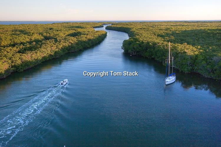 Intercoastal Waterway at Jewfish Creek, Key Largo, Florida