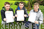 Pictured after they picked up their Leaving Cert results in St Brendans College, Killarney on Wednesday were Gearóid O'Sullivan, Patrick Donoghue and Donal Foley. ..................Christy O'Mahony, captain Beaufort Golf club and Irene McCarthy, Lady Captain Beaufort Golf Club pictured with James Lucey and Sheila McCarthy, who were the winners in their Captain Prize Competition at the course on Sunday. Also pictured are Frank Coffey, President, Sean Coffey, vice captain, Teresa Clifford, Margaret Guerin, Josephine O'Shea, Gretta Hurley, Renee Clifford, Peggy O'Riordan, Maureen Rooney, Mary Barrett, Robin Suter, Gearoid Keating, Jim Hurley, Gabhan O'Loughlin, Rory Browne, Mike Quirke, Matt Templeman and Simon Rainsford..Picture: Ger Cronin LMPA (087) 0522010..PR SHOT..NO REPRODUCTION FEE........................................................................................................................