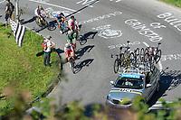 Picture by Richard Blaxall/SWpix.com - 28/09/2018 - Cycling 2018 Road Cycling World Championships Innsbruck-Tirol, Austria - Men's U23 Road Race - Peloton, Brief, Shimano
