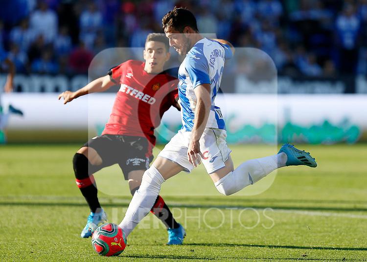 CD Leganes's Jose Arnaiz during La Liga match. Oct 26, 2019. (ALTERPHOTOS/Manu R.B.)