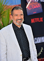 "LOS ANGELES, USA. October 08, 2019: Steven Michael Quezada at the premiere of ""El Camino: A Breaking Bad Movie"" at the Regency Village Theatre.<br /> Picture: Paul Smith/Featureflash"