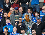 Underground overground top of the league, The Wombles of Rangers FC are we