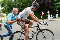 Nicolas Roche (Irl) of AG2R La Mondiale Team  .Rouen / St Quentin.5/7/2012.Tour de France - Vise / Tournai.Foto Insideofoto / Kalut - De Voecht / Photo News / Panoramic.ITALY ONLY