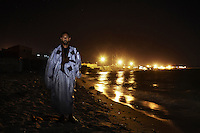 Atiko Barrax, 36, human rights activist. Pictured in Dakhla, Moroccan controlled Western Sahara (Saharawi Arab Democratic Republic): 'I was born in Dakhla in 1973. My first memories are of the military and there being no light in the streets. I remember seeing injured Moroccan soldiers coming to the hospital during the war. Everyone here who believes in independence cannot get work, all the Saharawi work in human rights, there is no other work. We cannot fish. We cannot do anything.'..