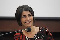 NAPOLES, ITALIA, 13.12.2018 - MANUELA-D'AVILA - Manuela D'Avila durante encontro com brasileiros na cidade de Napoles na Italia nesta quinta-feira, 13. (Foto: Salvatori Esposito/Brazil Photo Press)