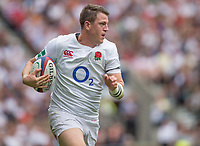 Twickenham, Surrey, United Kingdom. Sam JAMES,  during the, Old Mutual Wealth Cup, England vs Barbarian's match, played at the  RFU. Twickenham Stadium, on Sunday   28/05/2017England    <br /> <br /> [Mandatory Credit Peter SPURRIER/Intersport Images]