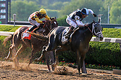 June 10th 2017; Hempstead, New York, USA; Tapwrit ridden by Jose Ortiz wins the running of the 149th Belmont Stakes on June 10, 2017 at Belmont Park in Hempstead, NY.