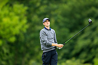 Tiernan McLarnon (Massereene) during the first round at the Mullingar Scratch Trophy, the last event in the Bridgestone order of merit Mullingar Golf Club, Mullingar, West Meath, Ireland. 10/08/2019.<br /> Picture Fran Caffrey / Golffile.ie<br /> <br /> All photo usage must carry mandatory copyright credit (© Golffile | Fran Caffrey)