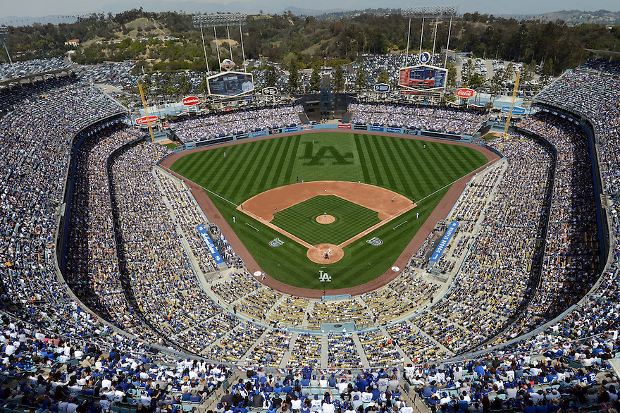 Dodgers Home Opening Day 2014