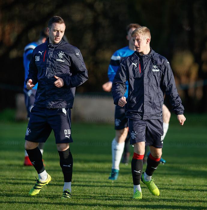 Danny Wilson and Ross McCrorie