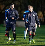 Danny Wilson and Ross McCrorie