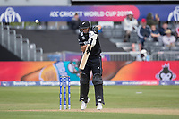 Ross Taylor (New Zealand) nicks Oshane Thomas (West Indies) and is caught during West Indies vs New Zealand, ICC World Cup Warm-Up Match Cricket at the Bristol County Ground on 28th May 2019