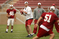 21 April 2007: Todd Husak during the Alumni's 38-33 victory over the coaching staff during a flag football exhibition at Stanford Stadium in Stanford, CA.