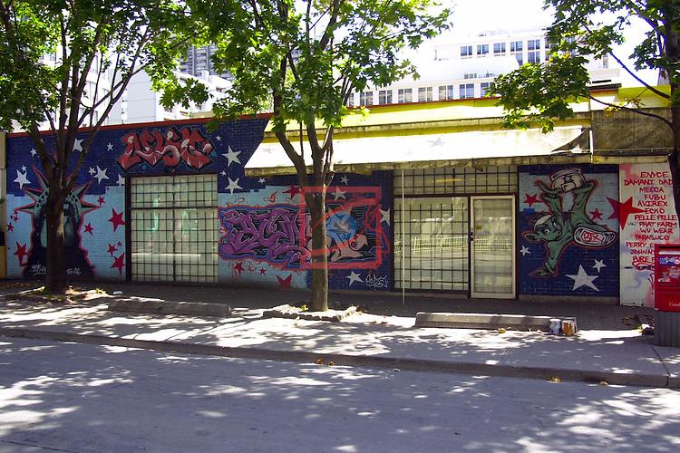 Street Art-Graffittis.<br /> Toronto.