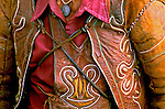 Roupa de couro. Vaqueiro nordestino. Foto de Nair Benedicto.