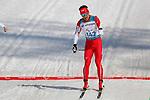Yoshihiro Nitta (JPN),<br /> MARCH 14, 2018 - Cross-Country Skiing : <br /> Men's Sprint 1.5 km Standing Final <br /> at Alpensia Biathlon Centre   <br /> during the PyeongChang 2018 Paralympics Winter Games in Pyeongchang, South Korea. <br /> (Photo by Yusuke Nakanishi/AFLO SPORT)