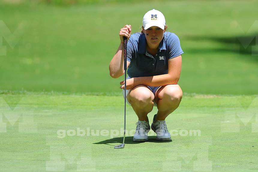 Teams compete on day one of the 2016 NCAA Women's Golf Shoal Creek Regional at Shoal Creek Country Club on Thursday, May 05, 2016 in Birmingham, Alabama.