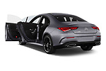 Car images close up view of a 2020 Mercedes Benz CLA AMG-Line 4 Door Sedan doors