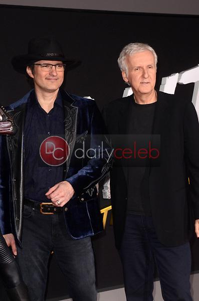 "Robert Rodriguez, James Cameron<br /> at the ""Alita Battle Angel"" Premiere, Village Theater, Westwood, CA 02-05-19<br /> David Edwards/DailyCeleb.com 818-249-4998"