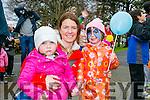 Tir na Nog Easter Festival - Under 12 Kids Fancy Dress Fun Run in Tralee Town Park were l-r  Breda Daly, Sammy O'Sullivan and Nikki O'Sullivan