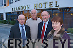 Pictured at the Launch of the Careers Day at the Brandon Hotel were Dermot Twomey, John Murphy, Billy Ryle and Betty Farrell.