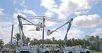 2017 FPL Hurricane Irma restoration in Daytona Beach, Fla. on Sept. 15, 2017.