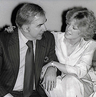 Ed McMahon and wife Victoria at Studio 54 1978<br /> Photo By Adam Scull/PHOTOlink.net