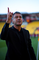 Phoenix coach Mark Rudan walks from the pitch after the A-League football match between Wellington Phoenix and Newcastle Jets at Westpac Stadium in Wellington, New Zealand on Sunday, 21 october 2018. Photo: Dave Lintott / lintottphoto.co.nz