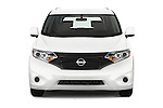 Car photography straight front view of a 2015 Nissan Quest s 5 Door Mini Van